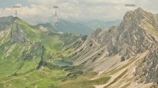 Lachenspitze und Landsberger Hütte