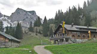 Füssener Hütte und Schartschrofen