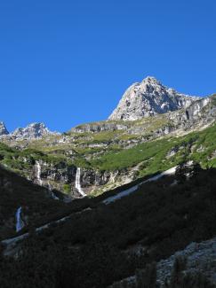 Wasserfälle im Roßkar