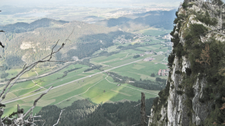 Roter Stein Nordwand