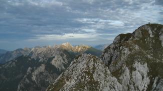 Blick in die nördlichen Ammergauer