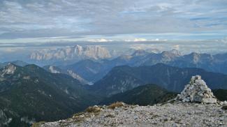 Säulingblick zur Zugspitze