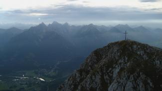 Säulingblick zu den Tannheimer Bergen