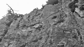 Eisen im Fels