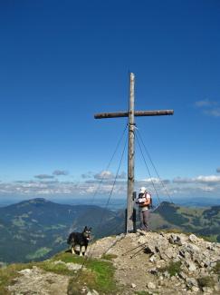 Wannenjoch-Gipfel