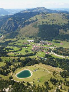 Oberjoch und die Wiedhagalpe