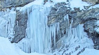 Eis im Kaisertal