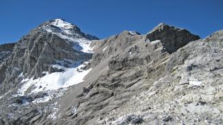 Schlussanstieg Braunarlspitze