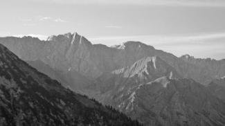 Gabelspitze und Tschachaun