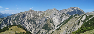 Panorama Schellschlicht bis Kreuzspitze