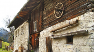 altes Haus im Weißenbacher Ortsteil Gaicht