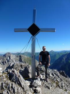 Parzinnspitze 2613m