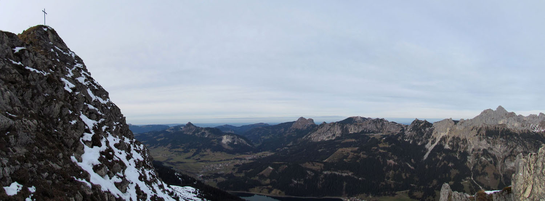 Krinnenspitze am 18.November 2012