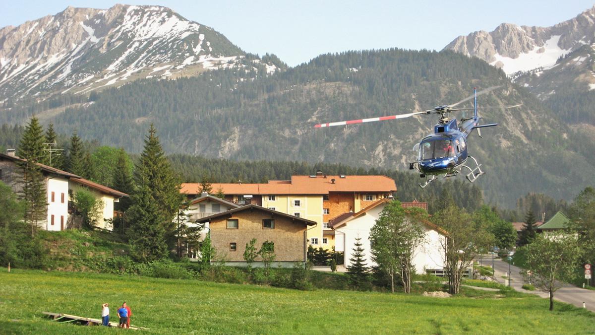 transportflug hubschrauber helikopter