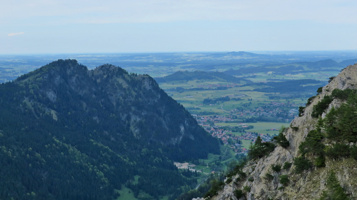 der Pfrontner Berg (Kienberg) und das Allgäuer Alpenvorland