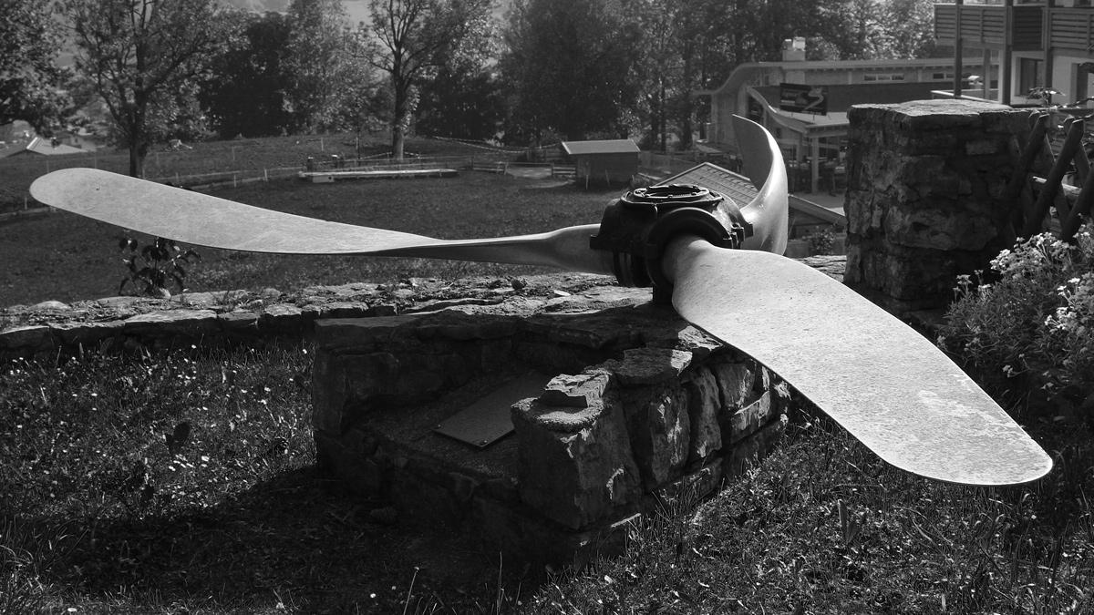 propeller b-24 liberator lermoos bomber