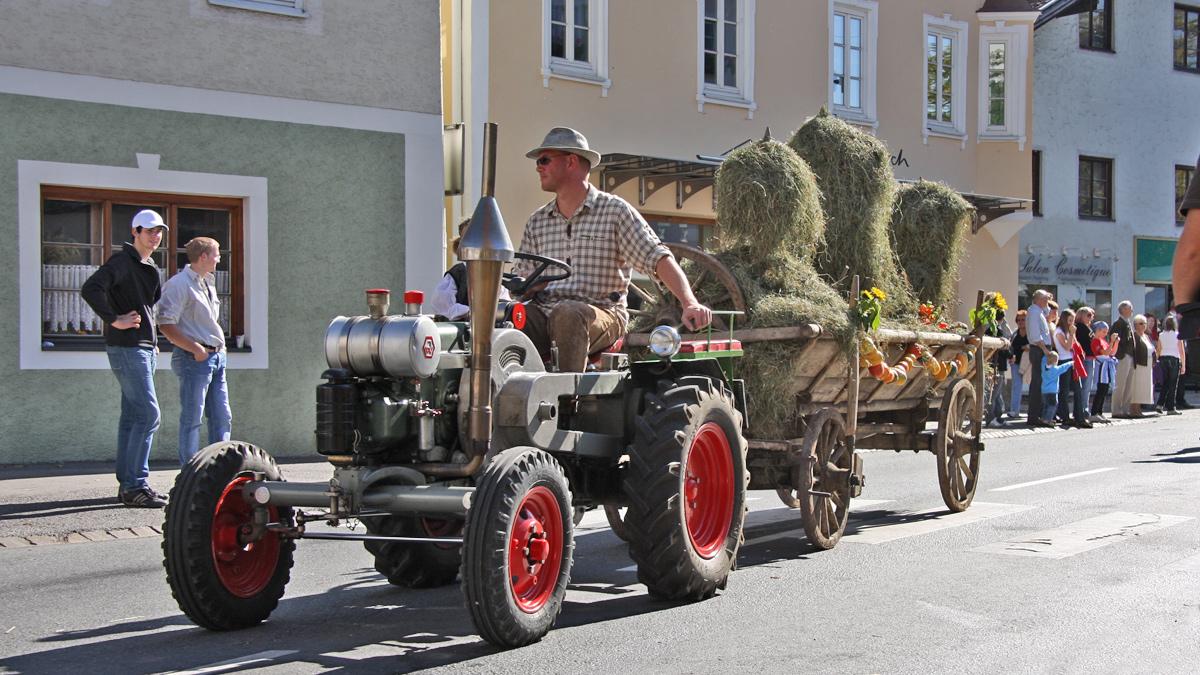 der Lechaschauer Beitrag beim Erntedank-Fest 2008 in Reutte