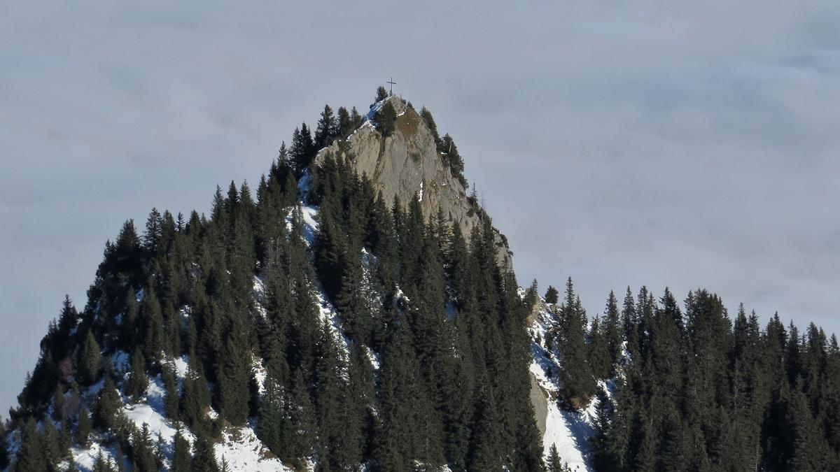 der kleine Gipfel des Hornbergls