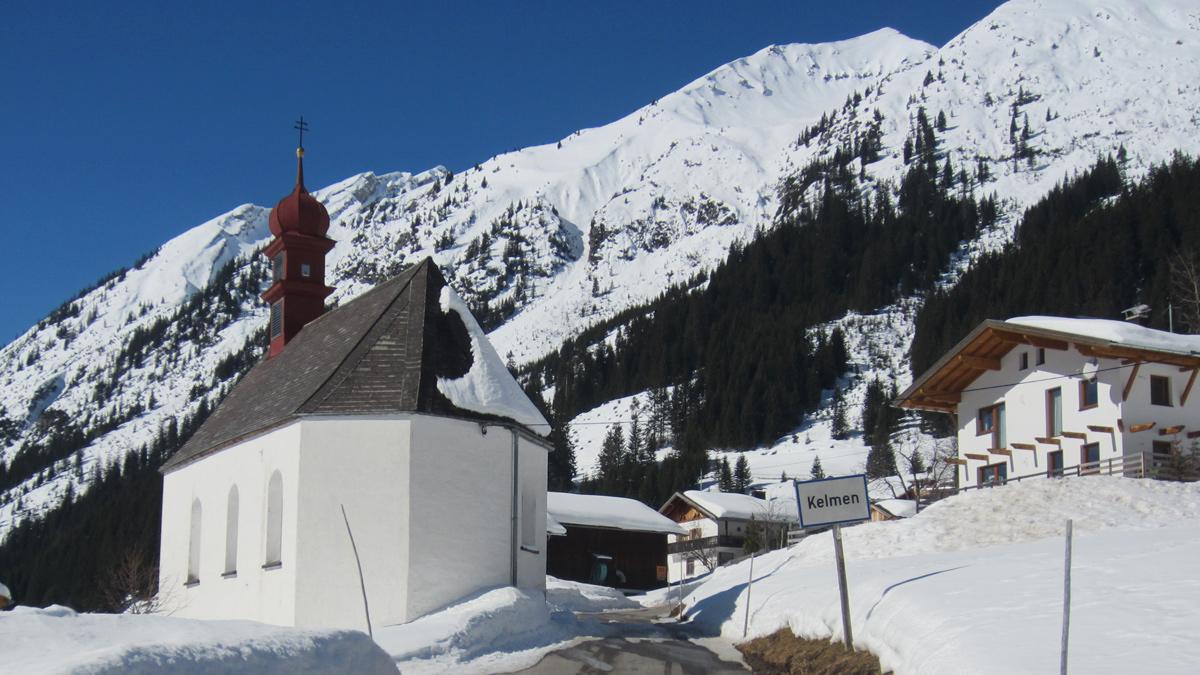 die Mariahilf-Kapelle in Kelmen