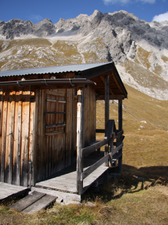 Hütte am Vordersee