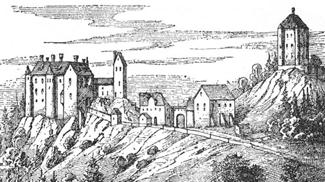 Rothenfels und Hugofels