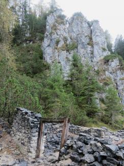 alpiner Bergbau Silberleithe