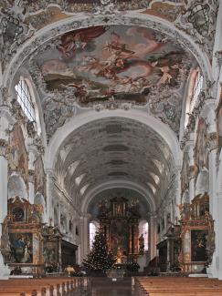 Stiftskirche St. Johannes Baptist in Steingaden