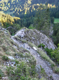 Gelbe-Wand-Steig