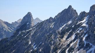 Geiselstein und Gumpenkarspitze