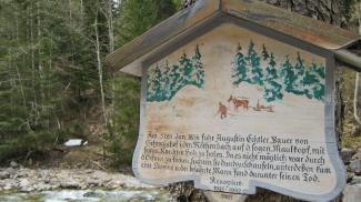 Marterl im Röthenbachtal