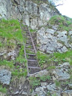 Eisenleiter am Säuling