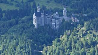 Restaurierungsarbeiten auf Schloss Neuschwanstein