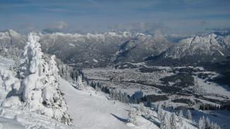 Skigebiet am Hahnenkamm