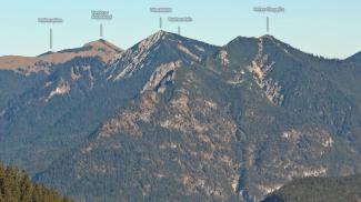 Südöstliche Ammergauer Berge