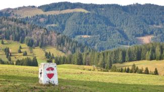 Grenzstein bei Krummenbach
