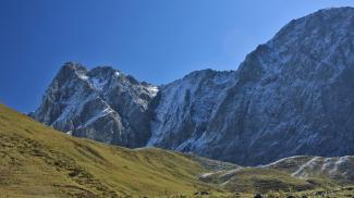Gabelspitze und Maldongrat