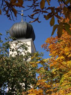 Kirchturm Sankt Anna Reutte