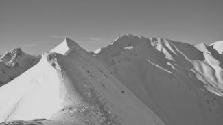 Höferspitze Gipfelgrat