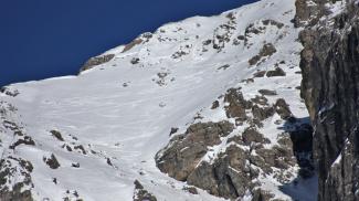 Widderstein Gipfelrinne