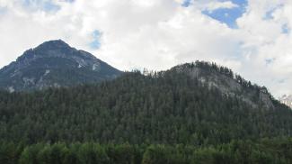 Saldeiner Spitze und der Baichlstein