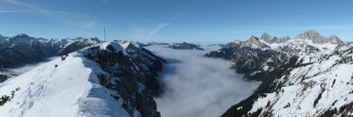 Panorama Gaichtspitze