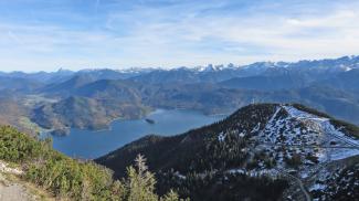 Fahrenbergkopf und Walchensee