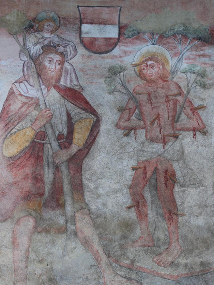 christophorus fresko ehenbichl furt lech