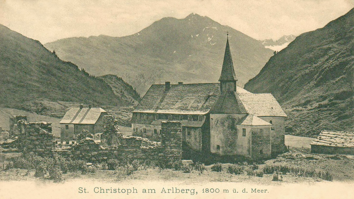 das Hospiz St. Christoph am Arlberg