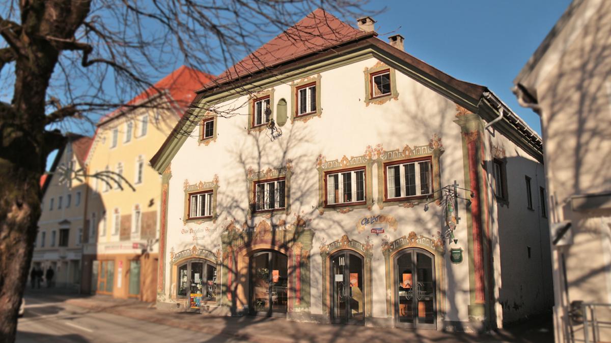 das Lumperhaus im Reuttener Obermarkt - um 1500 das Haus des Landesfürstlichen Jägers; um 1703 neu erbaut