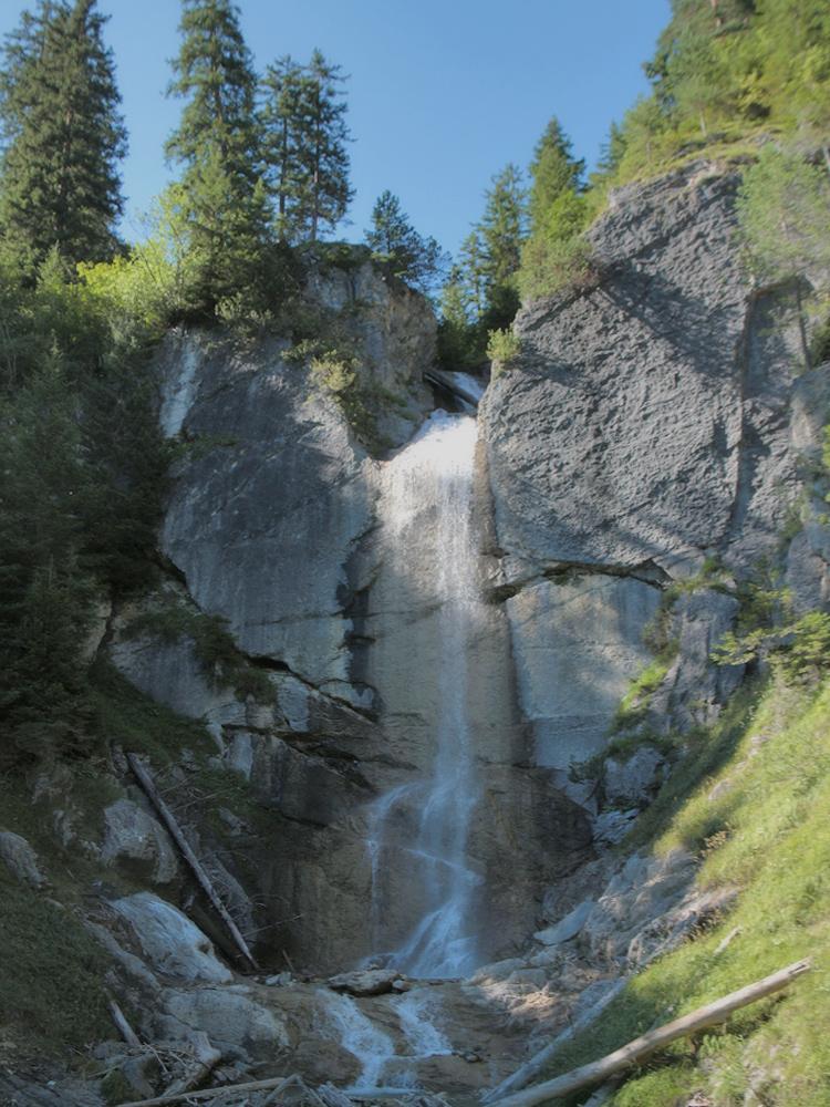 der Wasserfall des Modertalbaches
