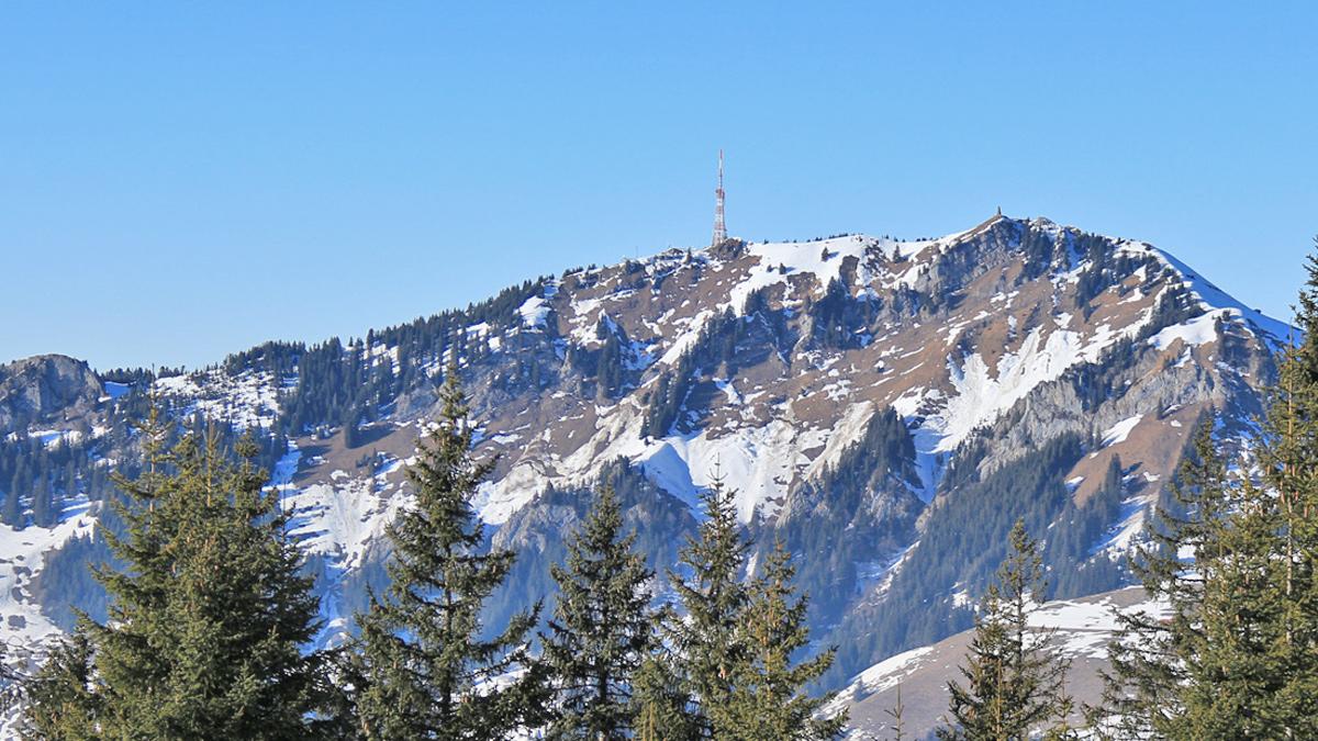 der Grünten von Südosten betrachtet (Boaleskopf)