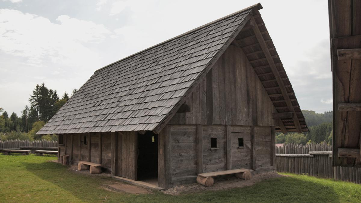 keltisches Blockhaus