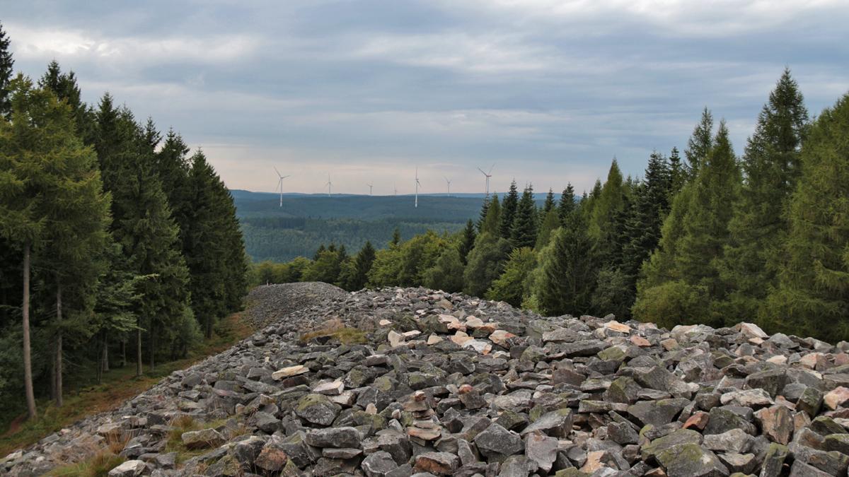 Hunnenring - ein keltischer Ringwall enormer Größe