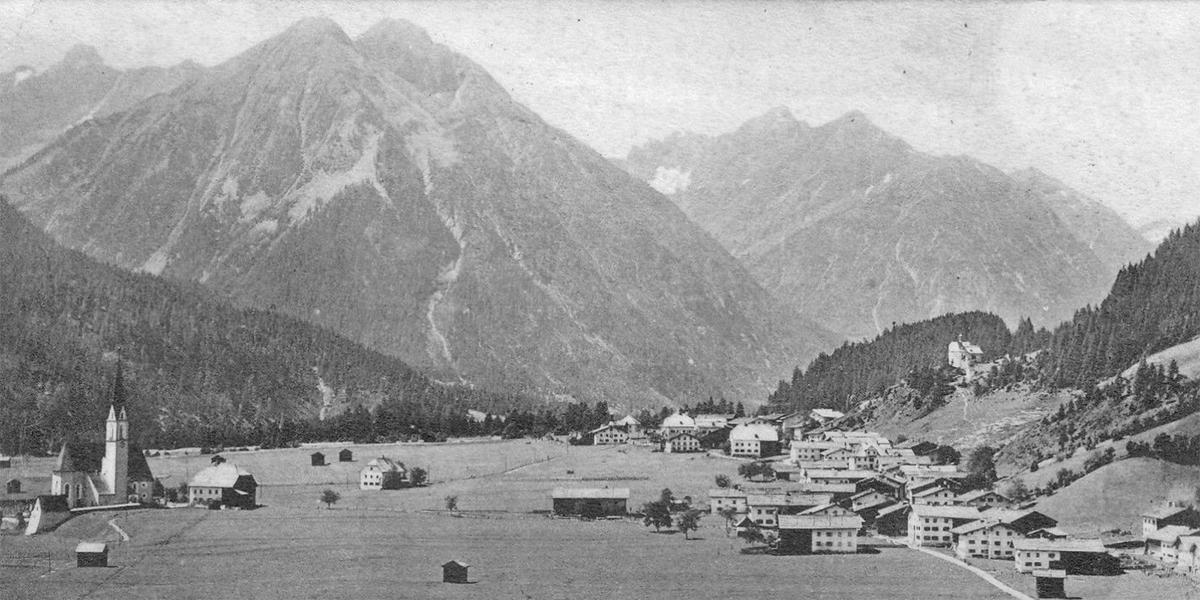 Elbigenalp um 1900